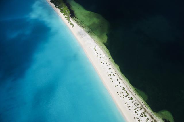 , '11 Mile Beach, Barbuda,' ca. 2015, Lumitrix