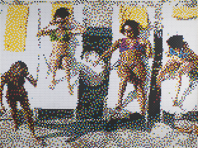 , 'Sunbathers, Miami Beach,' 2016, Margaret Thatcher Projects