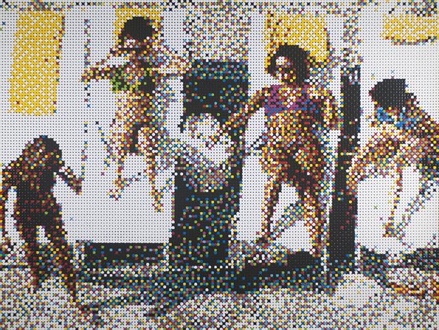 , 'Sunbathers, Miami Beach,' 2016, Margaret Thatcher Projects