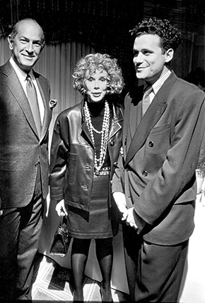 , 'Oscar de la Renta, Joan Rivers, and Isaac Mizrahi, The Carlyle Hotel, New York,' 1990, Staley-Wise Gallery