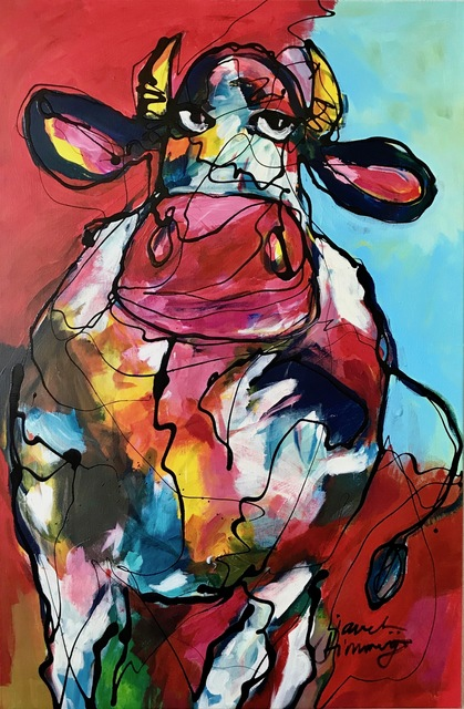 , 'Cow in Red,' 2017, Try it ART