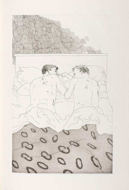 David Hockney, 'Fourteen Poems From C. P. Cavafy (Scottish Arts Council 47-58)', 1966, Doyle