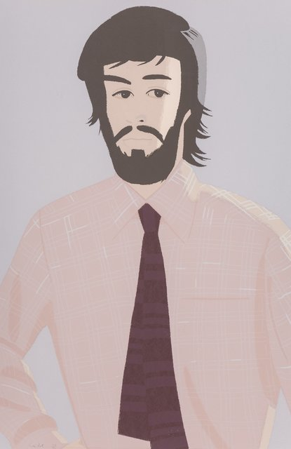 Alex Katz, 'Plaid Shirt I', 1981, Heritage Auctions