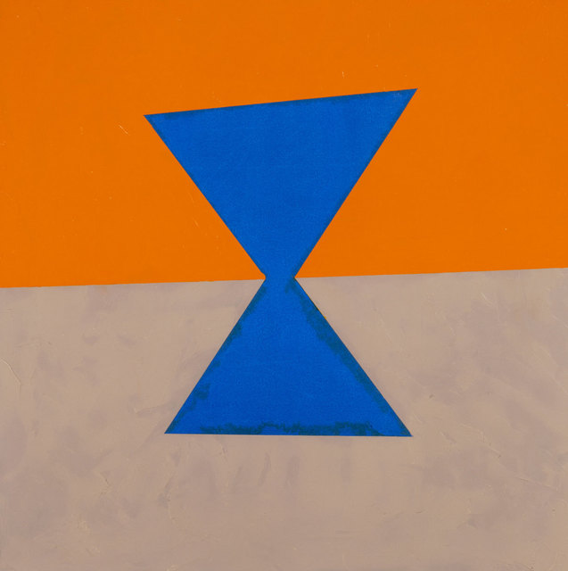 , 'Visual Logic (blue, orange, grey),' 2003, Estrada Fine Art