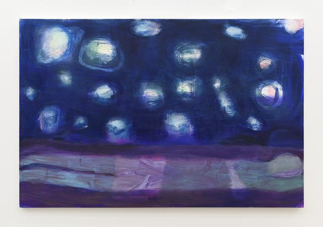, 'Swimmer Under Planets,' 2017, Anat Ebgi