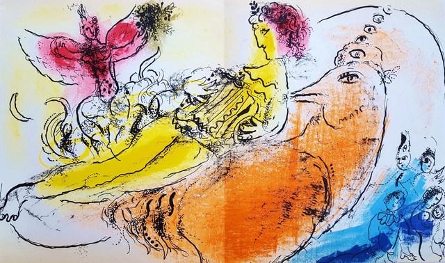 Marc Chagall, 'The Accordionist', 1957, Graves International Art