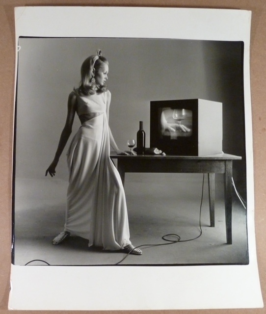 , 'Twiggy with TV Set, Vogue,' , Isabella Garrucho Fine Art