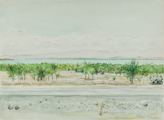 , 'The Lake,' 1985, Tufenkian Fine Arts