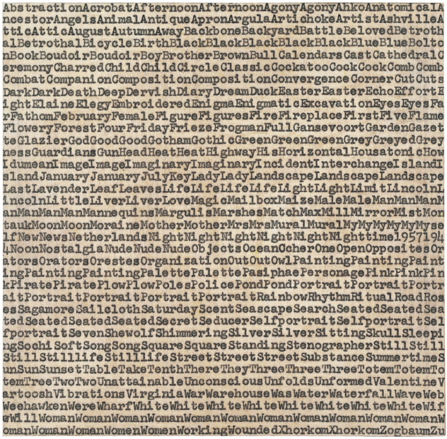 , 'de Kooning Gorky Pollack,' 1962, ARCHEUS/POST-MODERN