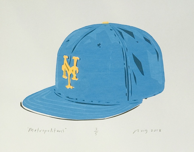 , 'The Metropolitans (The Mets),' 2018, Evalyn Dunn Gallery