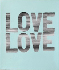 , 'Love Love (Blue),' 2018, Heather Gaudio Fine Art