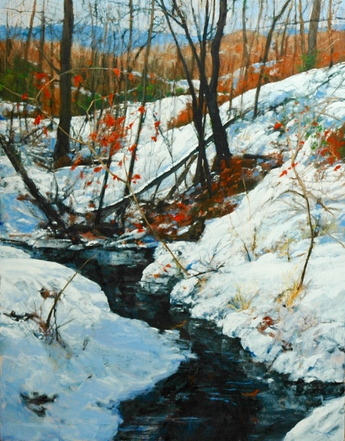 , 'Fresh Snow in the Piedmont,' 2017, Shain Gallery