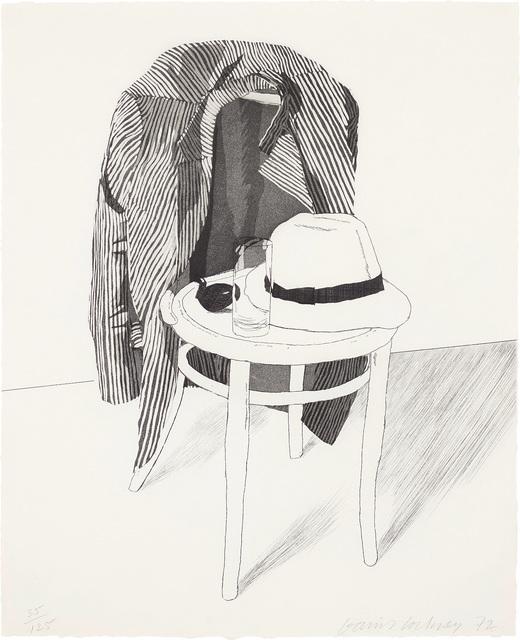 David Hockney, 'Panama Hat', 1972, Phillips