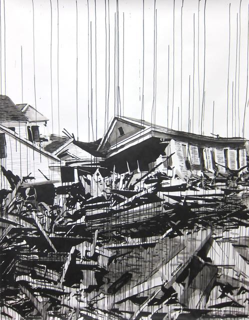 , 'Galveston 1900,' 2016, Galerie Peter Kilchmann