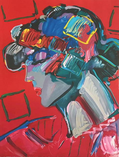 Peter Max, 'CRIMSON LADY', 1987, Gallery Art