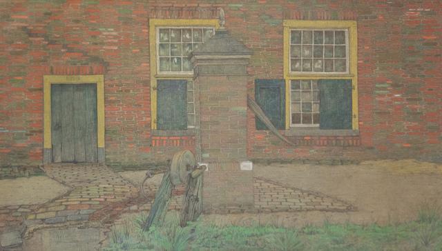, 'The water well,' 1903, Mireille Mosler Ltd.