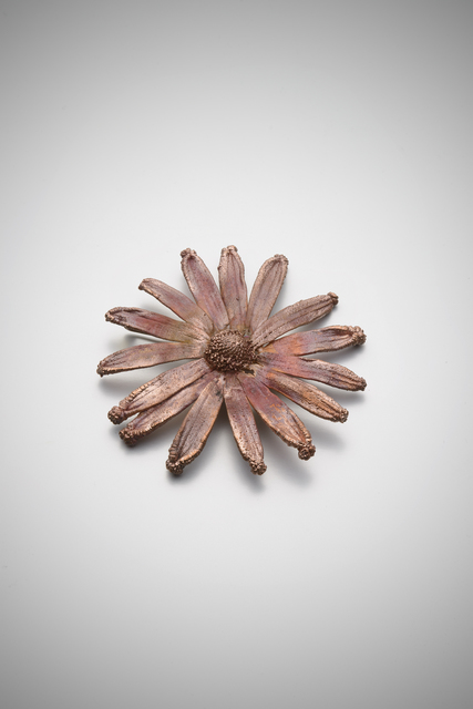 Claude Lalanne, 'Flower Brooch (4)', 2014, Jewelry, Galvanised Copper, Louisa Guinness Gallery