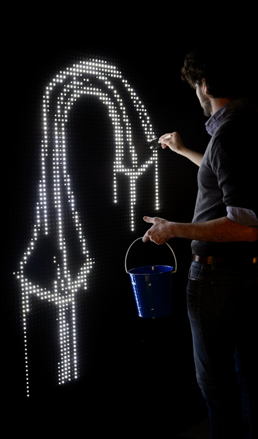 , 'Waterlight Graffiti,' , Aurora