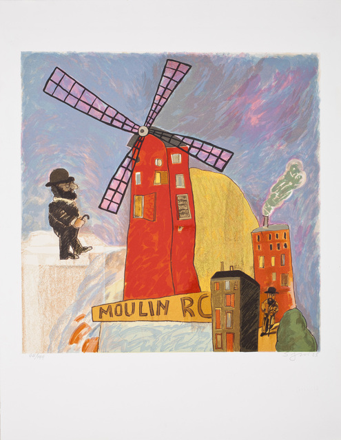 , 'Moulin Rouge,' 1985, Praxis Prints