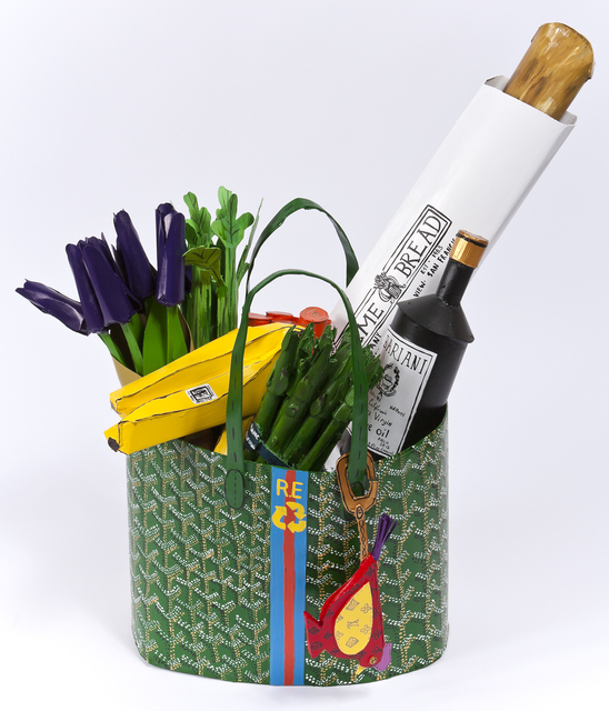 , 'Goyard Bag With Produce,' 2012, Joshua Liner Gallery