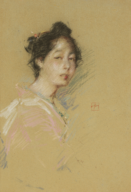 , 'Japanese Girl ,' 1891-1892, Debra Force Fine Art