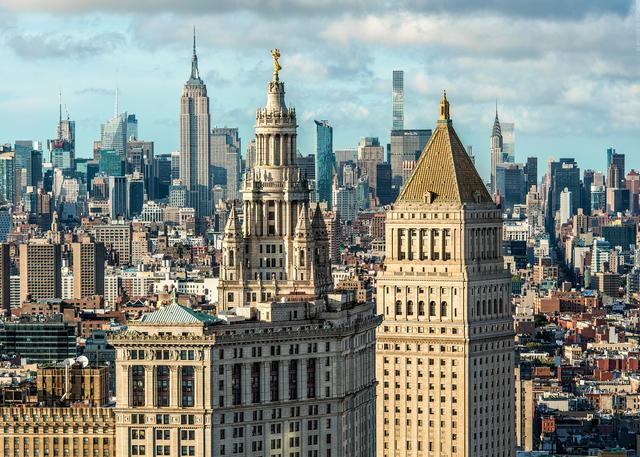 Andrew Prokos, 'Municipal Building and Midtown Skyscrapers', 2019, Andrew Prokos Gallery