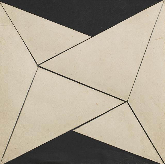 , 'Planos em Superficie Modulada,' 1957, Alison Jacques Gallery