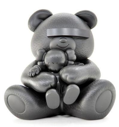KAWS, 'Undercover Bear (Black)', 2009, artrepublic