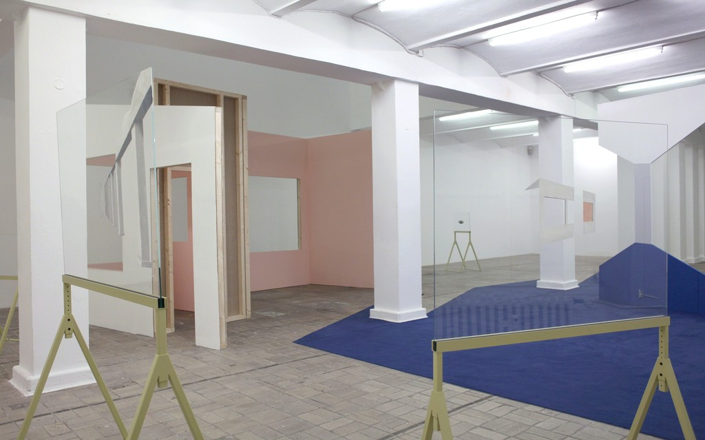 Elín Hansdóttir, SUSPENSION OF DISBELIEF, 2015. Installation view. Courtesy Elín Hansdóttir und/and i8 Gallery, Reykjavik, Foto: Elín Hansdóttir
