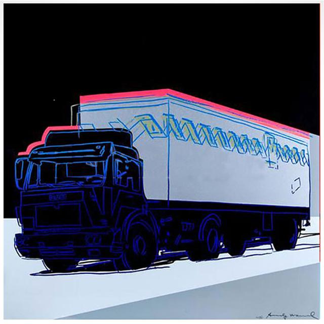 Andy Warhol, 'Truck ', 1985, Taglialatella Galleries