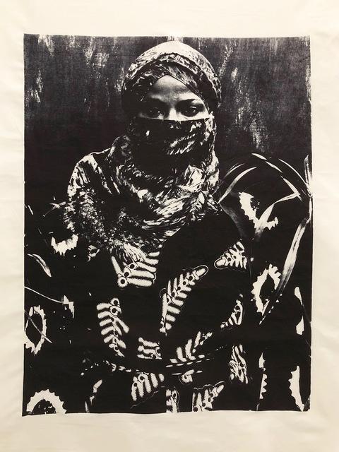 , 'Tye dyed (Variation #1),' 2017-2018, Mariane Ibrahim Gallery