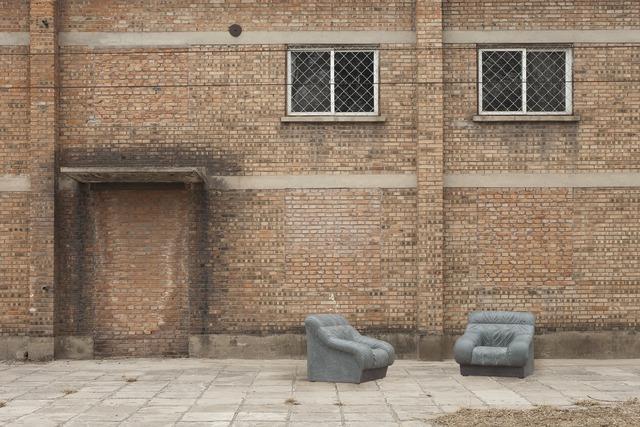 , 'Sofa in Grey (pair),' 2011, Galerie Urs Meile