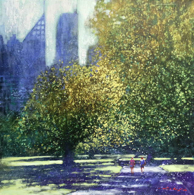 , 'Hyde Park Sydney,' 2019, Wentworth Galleries