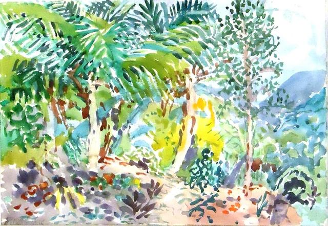 , 'Three Palms on a Hillside,' 1965, Cerulean Arts