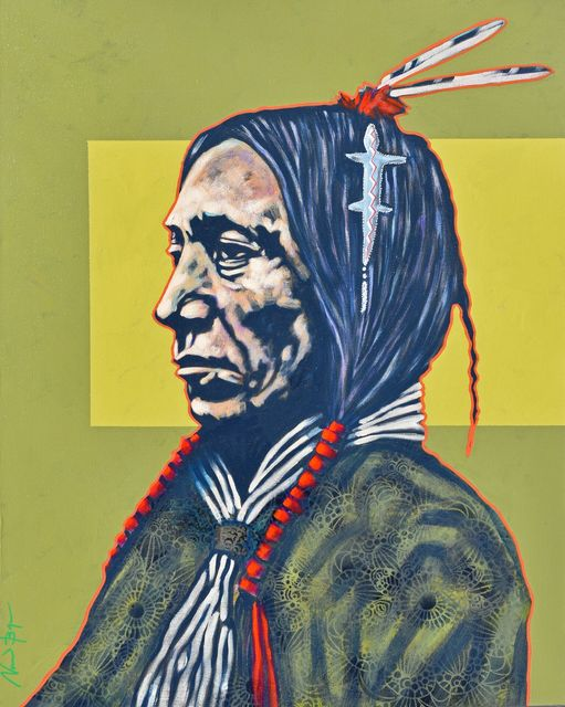 ", '""Cheyenne with Amulet"",' 2018, Bonner David Galleries"