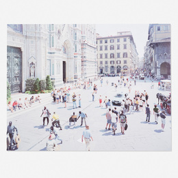 Massimo Vitali, 'Firenze Via Via (from the Landscapes with Figures portfolio),' 2006, Wright: Prints + Multiples (January 2017)
