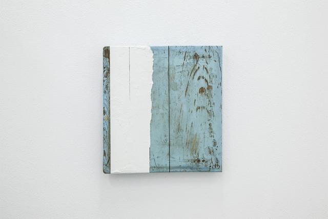 , 'Branco sobre azul,' 2013, Fonseca Macedo