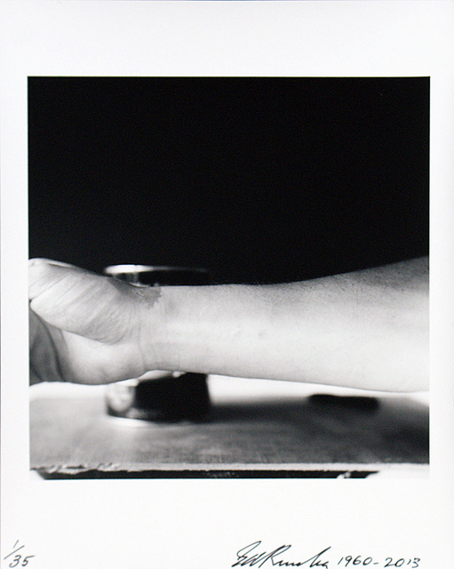 , 'Self-Portrait of My Forearm 1960 andSelf-Portrait of My Forearm 2014,' 1960-2014, CCA Wattis Institute For Contemporary Arts