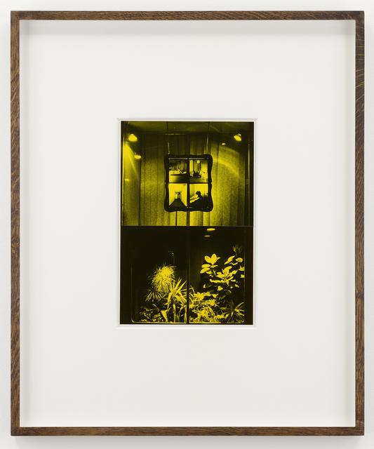 Tim Head, 'Study for Sauna', 1982, Parafin