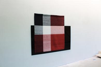 , 'Parallel Planar Panel  (black, maroon, white, grey),' 2014, New Art Centre
