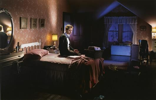 Gregory Crewdson, 'Untitled, Winter (Mother on Bed with Blood) Beneath the Roses', 2004, John Wolf Art Advisory & Brokerage