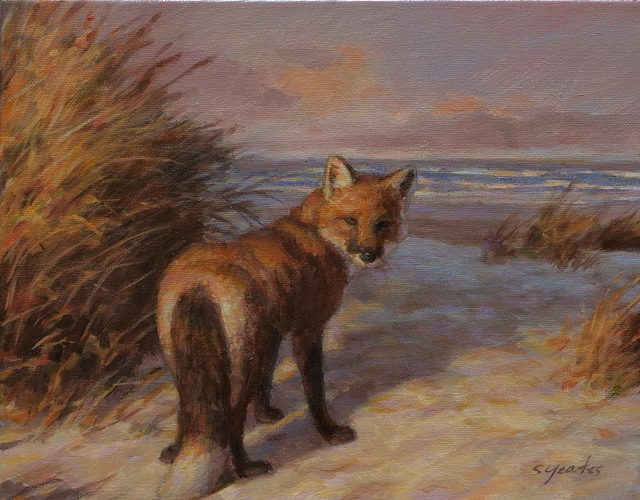 , 'Fox on the Beach, Study I,' , Davis Gallery & Framing