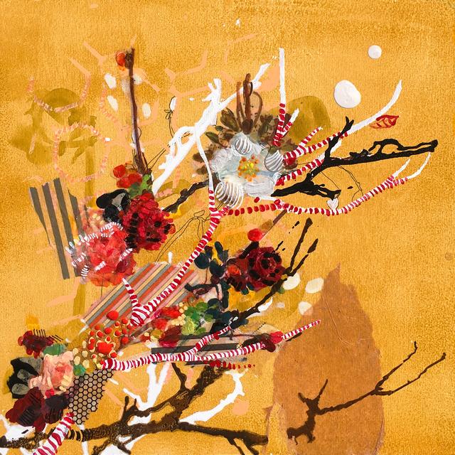 , 'Golden Floral,' 2018, Newzones