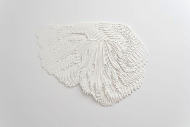 Larisa Sitar, 'Roboust Boast', 2019-2020, Installation, MDF bas-relief, washable paint, Art Encounters Foundation