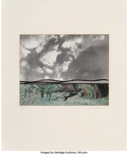 Roy Lichtenstein, 'Fish and Sky, from Ten from Leo Castelli portfolio', 1967, Heritage Auctions
