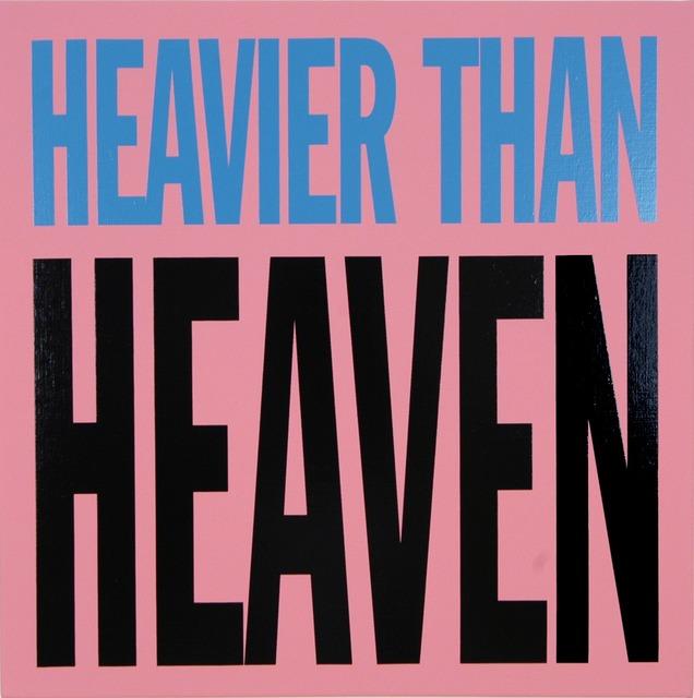 , 'Heavier than Heaven,' 2005, Palais de Tokyo