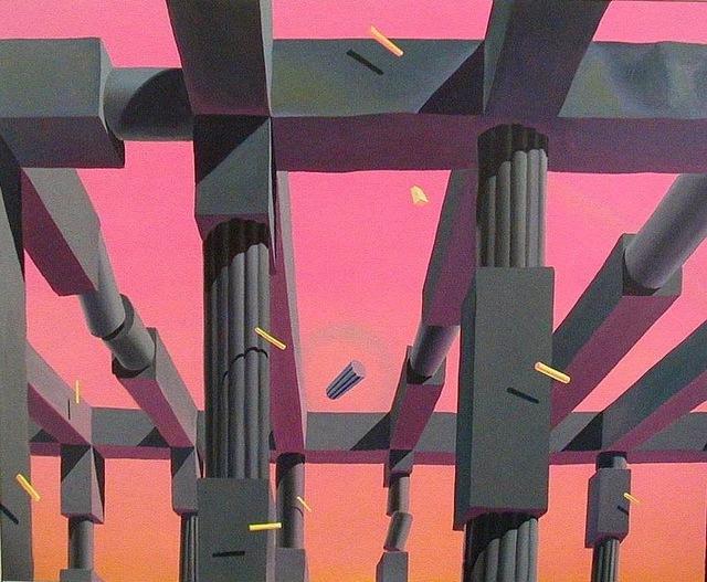 , 'Die falschen Versprechen der Statik,' 2000, Galerie Kremers