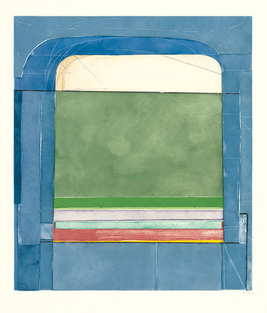 , 'Blue Surround,' 1982, Montclair Art Museum