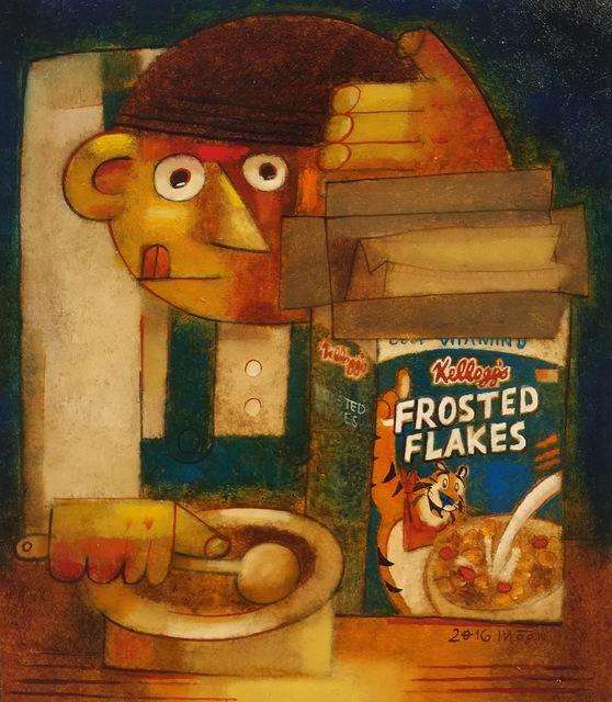 , 'Corn flakes,' 2016, Gallery Mac