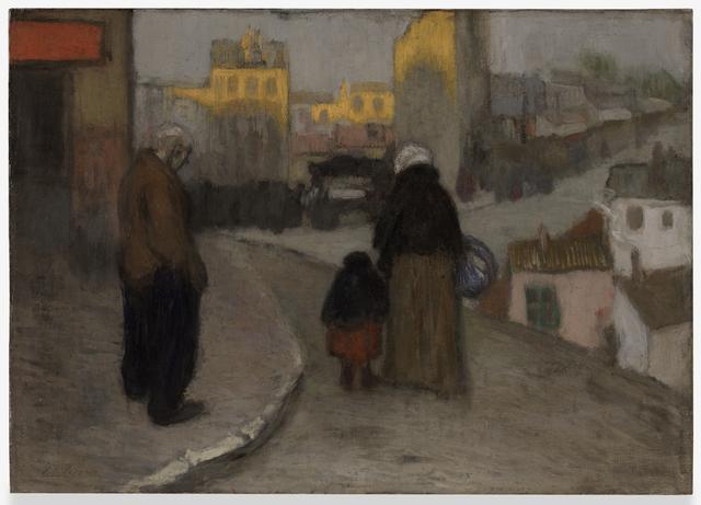 Pablo Picasso, 'Scène de rue (Street Scene)', 1900, San Francisco Museum of Modern Art (SFMOMA)